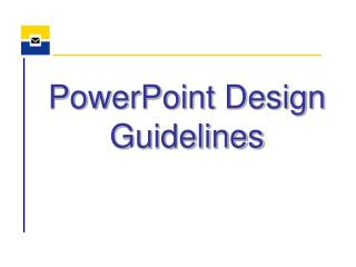 PowerPoint Design Guidelines