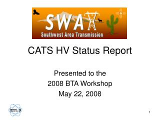 cats hv status report