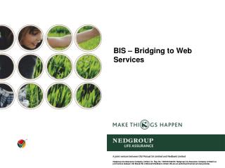 BIS – Bridging to Web Services