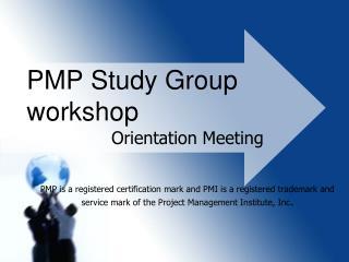 PMP Study Group workshop