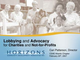 Lobbying  and  Advocacy for  Charities  and  Not-for-Profits