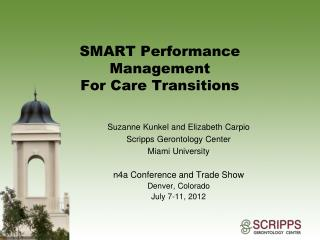 SMART Performance Management For Care Transitions