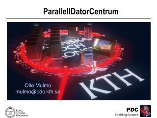 ParallellDatorCentrum