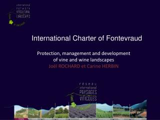 International Charter of Fontevraud