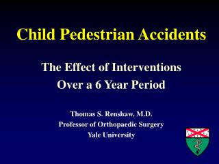 Child Pedestrian Accidents