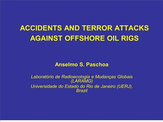 accidents and terror attacks against offshore oil rigs