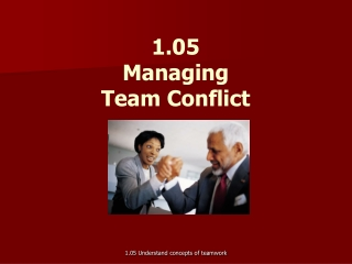 managing conflict between people