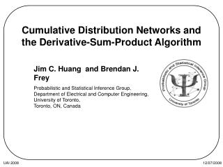 Cumulative Distribution Networks and the Derivative-Sum-Product Algorithm