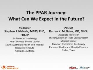 The PPAR Journey: What Can We Expect in the Future?