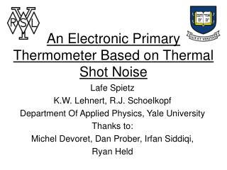 An Electronic Primary Thermometer Based on Thermal Shot Noise