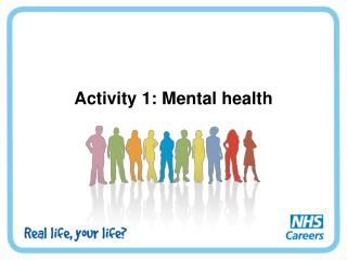 Activity 1: Mental health