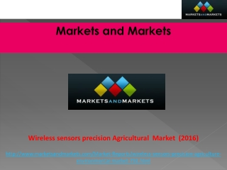 Wireless Sensors Market in Precision Agriculture