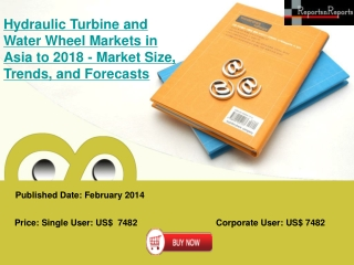 Asian Hydraulic Turbine and Water Wheel Industrial Growth