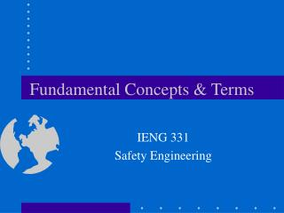 Fundamental Concepts & Terms