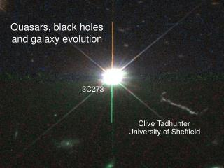 Quasars, black holes and galaxy evolution