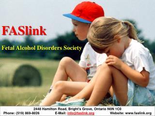 2448 Hamilton Road, Bright's Grove, Ontario N0N 1C0 Phone: (519) 869-8026 E-Mail: info@faslink.org