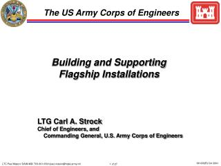 Building and Supporting  Flagship Installations