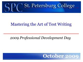 2009 Professional Development Day