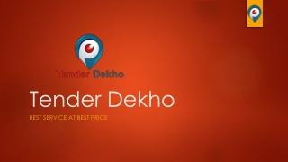 Tender, Tenders, online tender, government tenders, private