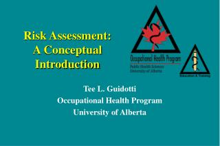 risk assessment: a conceptual introduction