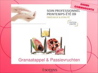 Granaatappel & Passievruchten