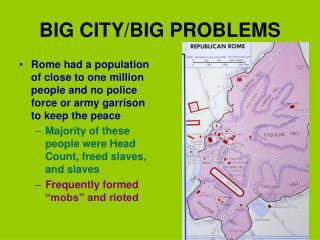 BIG CITY/BIG PROBLEMS