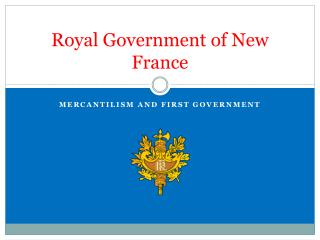 Royal Government of New France