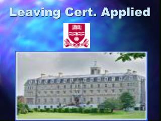 Leaving Cert. Applied