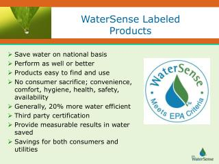 WaterSense Labeled Products