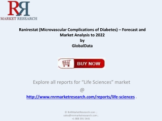 Market Outlook on 2022 Ranirestat  Market Healthcare Report