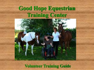 Good Hope Equestrian Training Center