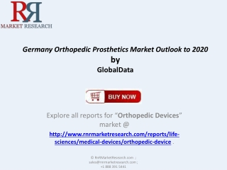 Germany Orthopedic Prosthetics Market comprehensive Research