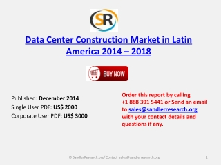 American Data Center Construction Market Analysis with 2018