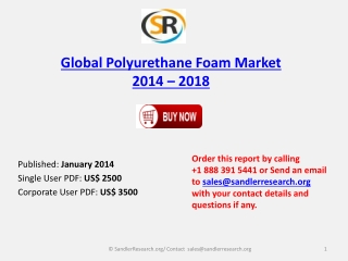 Global Polyurethane Foam Market comprehensive Research
