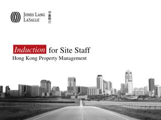 for Site Staff Hong Kong Property Management