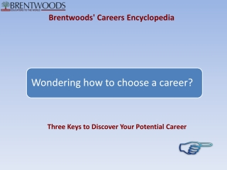 Brentwoods' Careers Encyclopedia