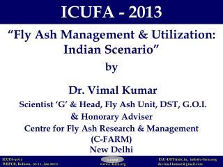 ICUFA - 2013