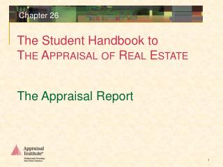 The Appraisal Report