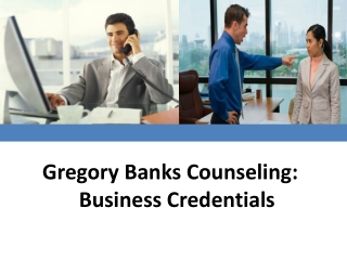 Gregory Banks Counseling