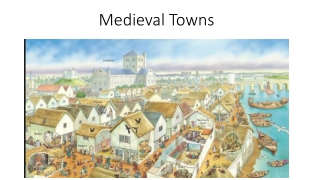 life in medieval towns