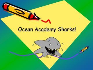 Ocean Academy Sharks!
