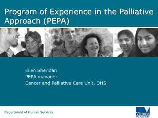 Program of Experience in the Palliative Approach (PEPA)