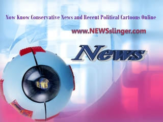 Now Know Conservative News and Recent Political Cartoons Onl
