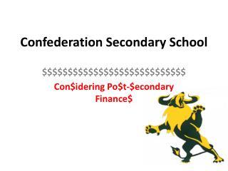 Confederation Secondary School