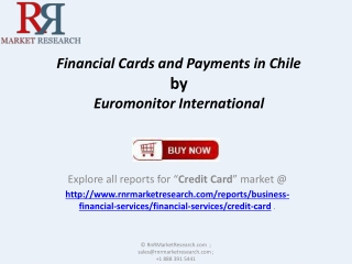 Financial Cards and Payments Market Growth, Market Share for