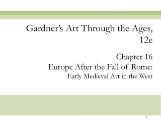 gardner s art through the ages, 12e