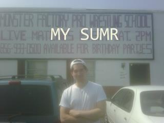 MY SUMR