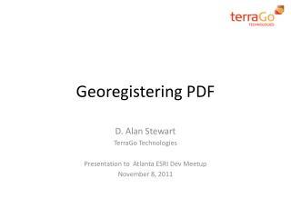 Georegistering PDF
