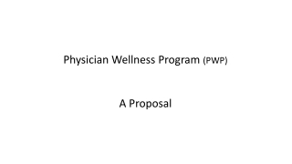 Physician Wellness