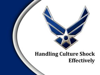 Handling Culture Shock Effectively